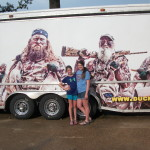 My girls at Duck Commander