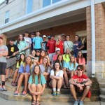 The group before we left Magee